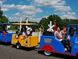 Trackless Train Rentals in New Jersey