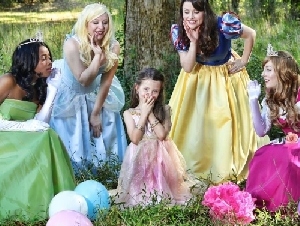 Peachtree Princess Parties In Atlanta, Georgia