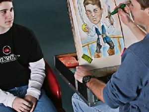 Phil Singer Art Kids Caricature Artist In Massachusetts