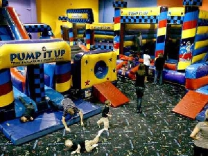 Pump it Up toddler birthday party places in Orange County California