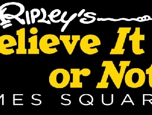 Ripleys Believe It or Not