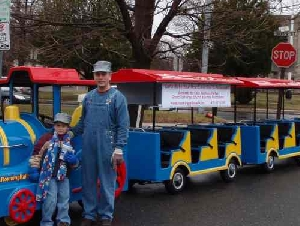 Trackless Train Rentals in Connecticut