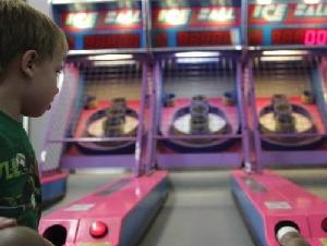 Salem Willows Arcade Games in Salem MA