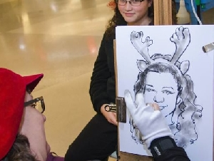 Sallys Faces Caricaturist In Pennsylvania