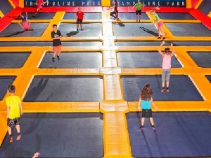 Sky High Sports Kids Birthday Party Places in Los Angeles County California