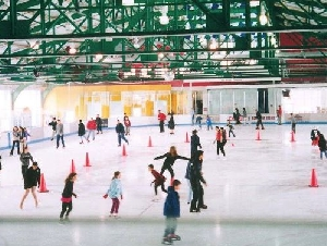 Sky Rink at Chelsea Piers Ice Skating Parties Fun