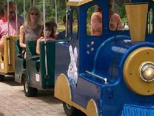Trackless Train Rentals in Florida