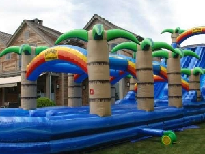 The Big Bounce Theory Inflatable Rentals in Long Island NY