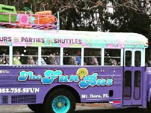 The Fun Bus Mount Dora Childrens Party Bus In Florida