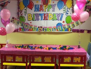 The Party is Here kids birthday party venues in Bergen County NJ