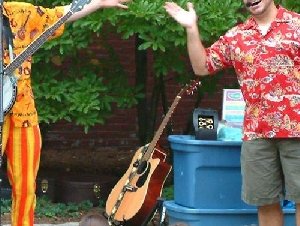Toe Jam Puppet Band New Bedford Massachusetts Children's Party Bands