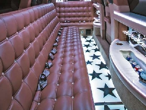 White Star birthday party limousine service in New York