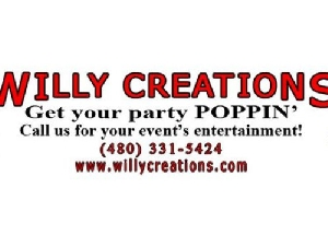 Book Willy Creations In The Greater Phoenix Arizona Area